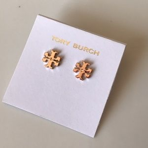 Brand New! Tory Burch Logo Earring